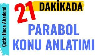 Parabol  21 Dakikada Parabol Konu Anlatımı