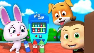 Vending Machine Cartoon Videos For Children | Funny Cartoons By Loco Nuts