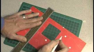 Window Panes Card Making Template