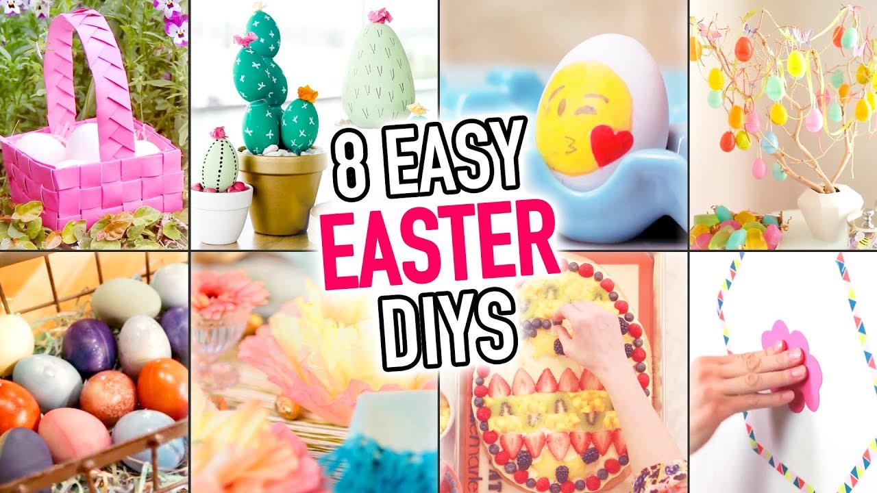8 Easter Diy Ideas Diy Compilation Video Hgtv Handmade Youtube