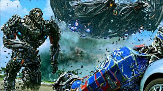 Transformers Age of Extinction  - Optimus Prime vs Galvatron and Lockdown  Scene (1080pHD VF)
