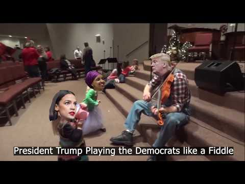 President Trump Playing the Democrats like a Fiddle