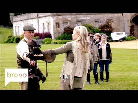 Ladies of London: Caroline Scares All the Ladies with Falcons (Season 3, Episode 8) | Bravo
