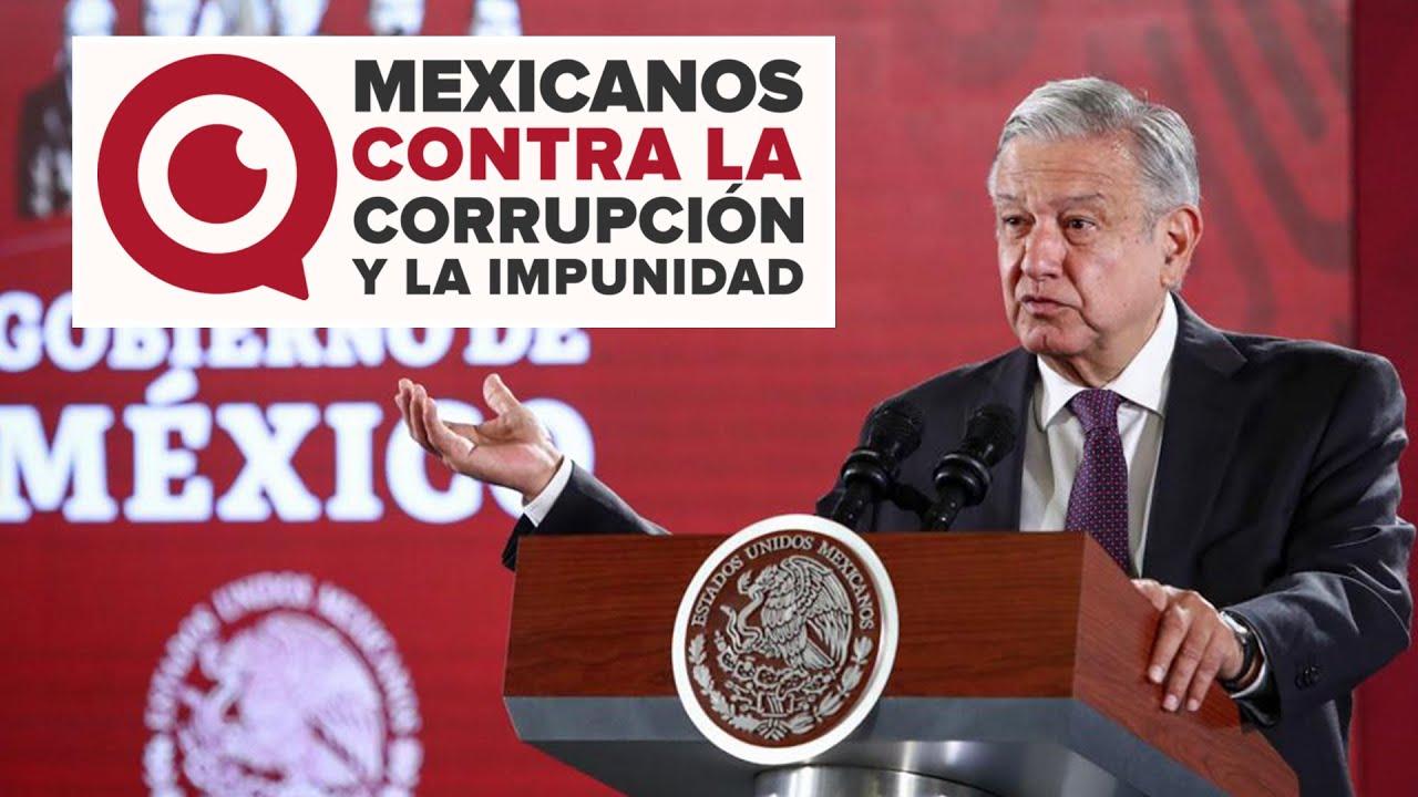 """AMLO arremete contra """"Mexicanos contra la Corrupción"""" - YouTube"""