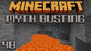 Are Diamonds Found Closer To Lava? [Minecraft Myth Busting 48]