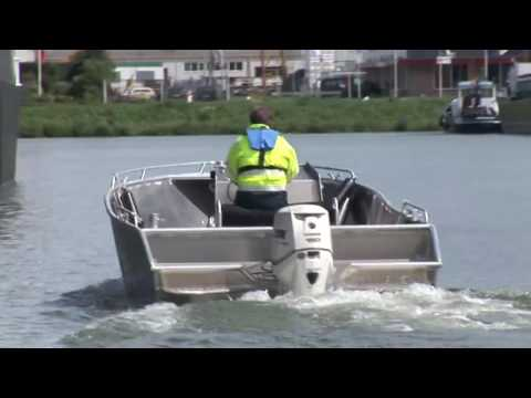 Aluminium workboat: Alunautic 6.50 SB