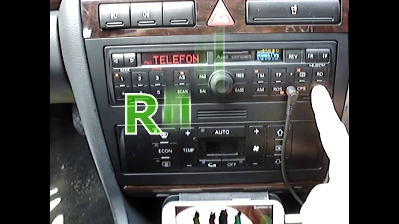 radio audi concert mp3 flac aux sd memory card youtube