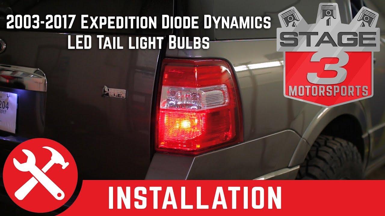 Shop Good Earth Lighting Metropolitan 3 Light Bronze: 2003-2017 Expedition Diode Dynamics Tail Light LEDs