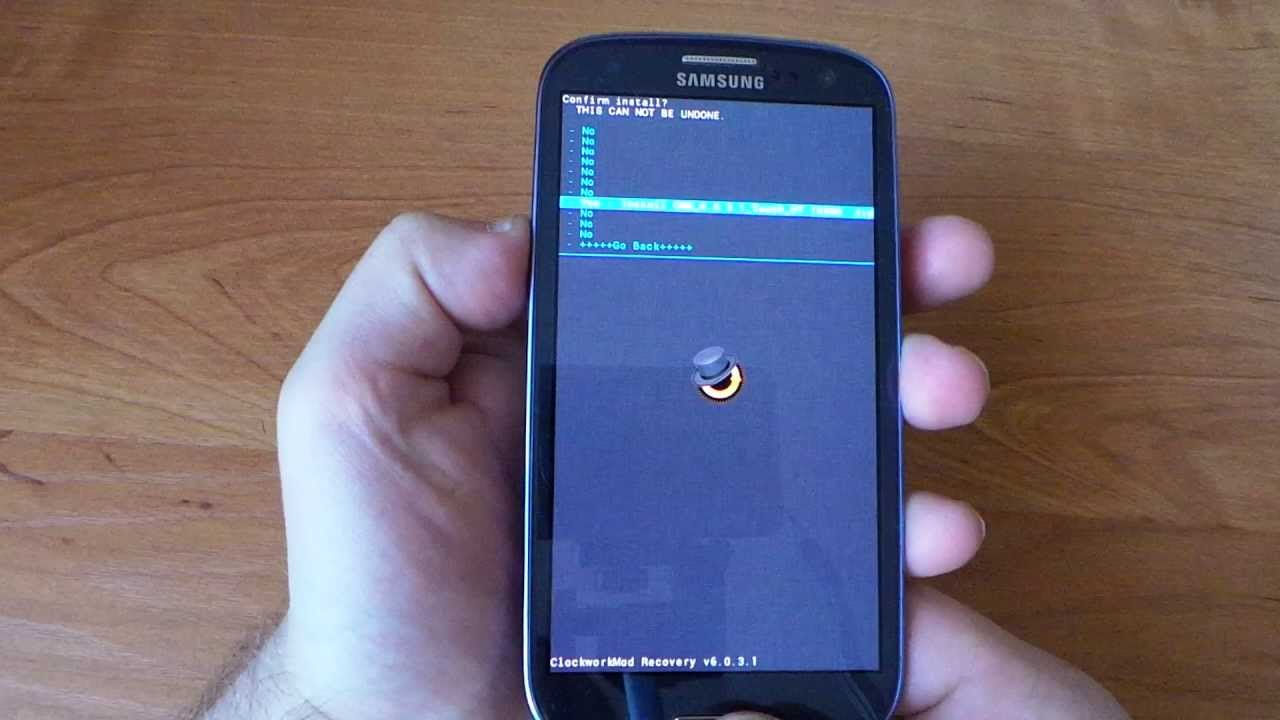 Y samsung recovery