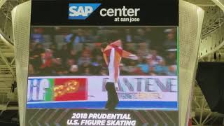 Whoops Moment for Jessica Pfund & Joshua Santillan - 2018 U.S. Nationals, Pairs