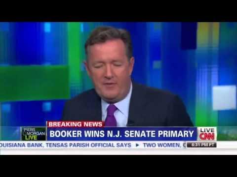 Cory Booker wins NJ Senate primary
