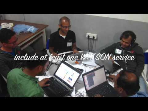 SwissRe IBM Bluemix Data Science & Cognitive Computing Hackathon, 2016, Bangalore, India