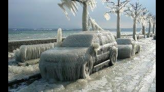 Замерзшие... Как замерзает