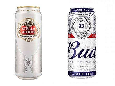 Бад vs. Стелла Артуа / Bud vs. Stella Artois
