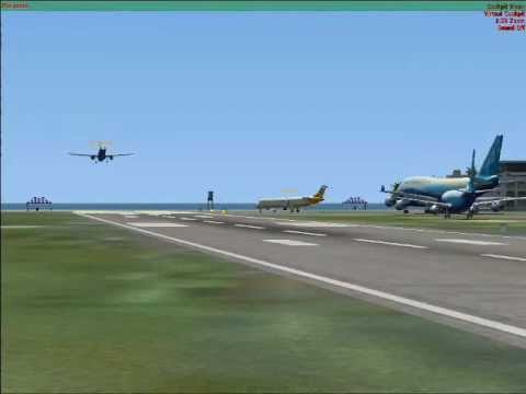 FSX Multiplayer TNCM Landing Competition Results (Top 10)