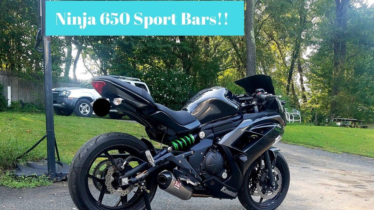 Best How To Install Ninja 650 Sport Bars Flipping Banjo Bolt