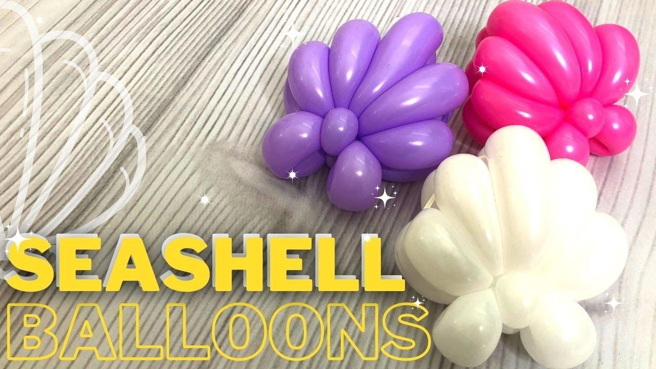 Seashell Balloon Twisting Tutorial!