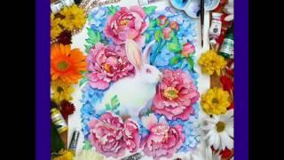12 животных китайского лунного календаря от Анны Буккьярелли