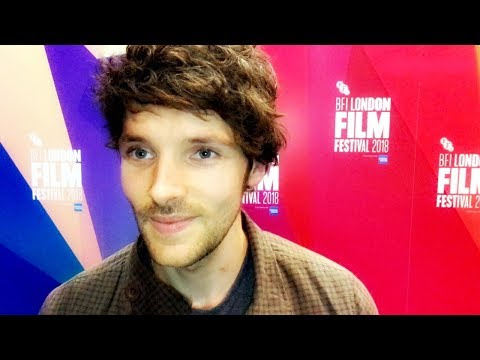 COLIN MORGAN on playing the lead role in BENJAMIN  BFI London Film Festival 2018