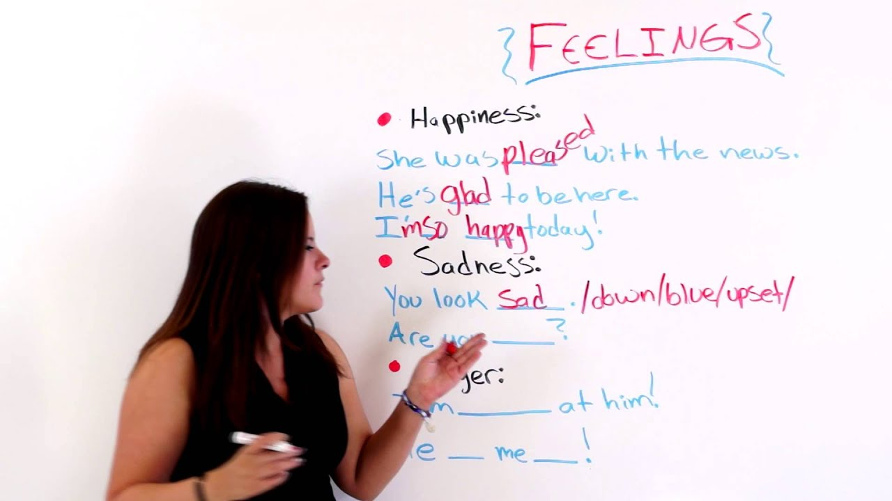 expressing feelings in english youtube