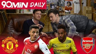 Will Alexis Sanchez sign for Man United? | Aubameyang to Arsenal!? | Man City finally lose! | Daily