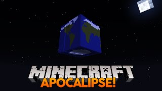 Minecraft: É O APOCALIPSE! (Crack in the World)
