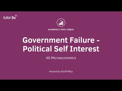 Government Failure - Political Lobbying