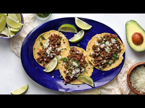 How to Make Authentic Street Tacos With Homemade Tortillas
