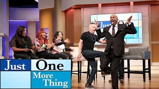 Kick step with Kid N' Play || STEVE HARVEY