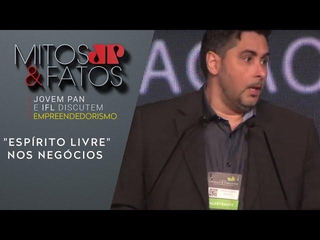 """Flavio Augusto destaca a importância do """"espírito livre"""" nos negócios"""