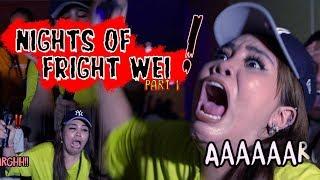 Norreen melatah teruk! Hantu pun takut weh! | NIGHTS OF FRIGHT 7 - Part 1