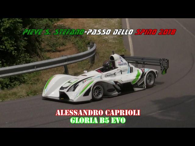 PIEVE SANTO STEFANO PASSO DELLO SPINO 2018 ALESSANDRO CAPRIOLI GLORIA B5 EVO
