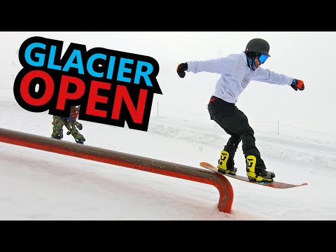 Whistler Glacier Snowboarding is Open