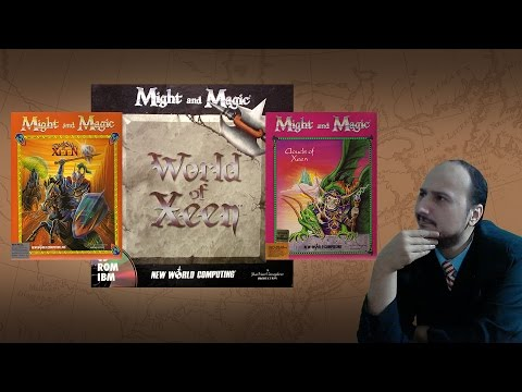 Gaming History: Might and Magic 4-5 World of Xeen