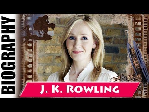 jk rowling author biography