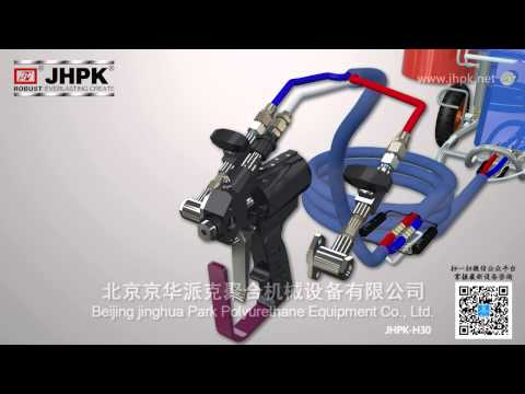 How To Install Our JHPK-H30 Polyurethane Spray And Injection Foam Equipment ?