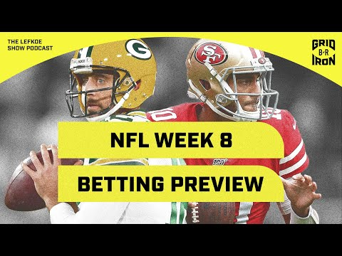 Warren Sharp's Week 8 NFL Betting Preview | The Lefkoe Show