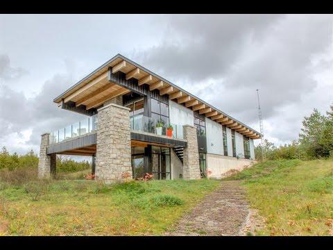 Unique Modern Home in Holland Centre Canada YouTube