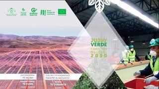 """#EnVivo: El Gobierno presenta """"Jujuy Verde Carbono Neutral 2.050"""""""