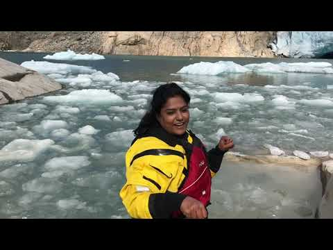 Norway glacier trip-Vlog in Tamil