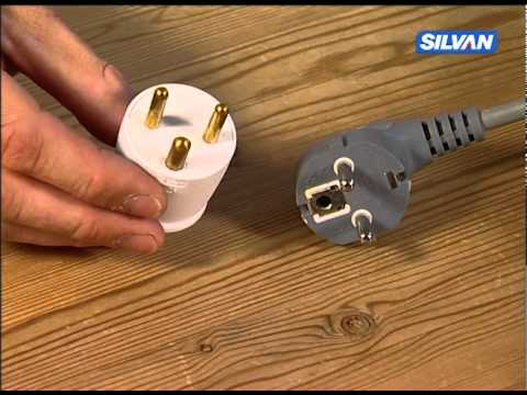 Nice Påsætning af adaptor på Schuko stik - YouTube NH82