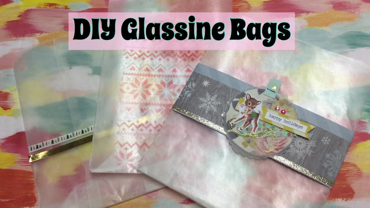 Diy Glassine Bags 3 Ways To Decorate December Daily Ideas I M A Cool Mom