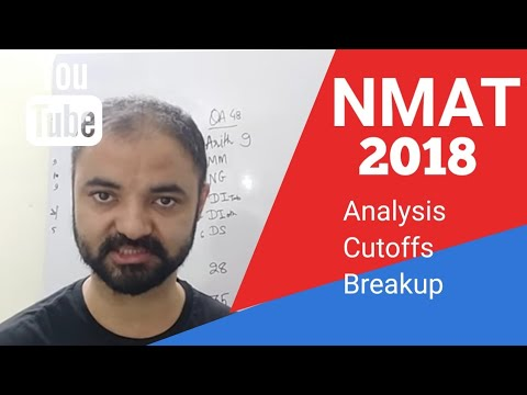 NMAT 2018 Day 1 Analysis Cutoffs Targets