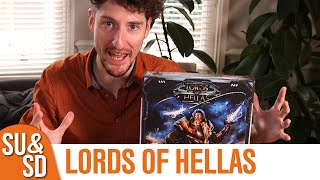 Lords of Hellas Review - A Scramble for Ankles