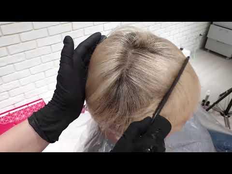 Мелирование на очень короткие волосы