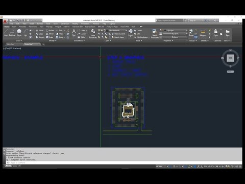 CAD Basic tutorial - Site plan graphics - Part 2 of 3