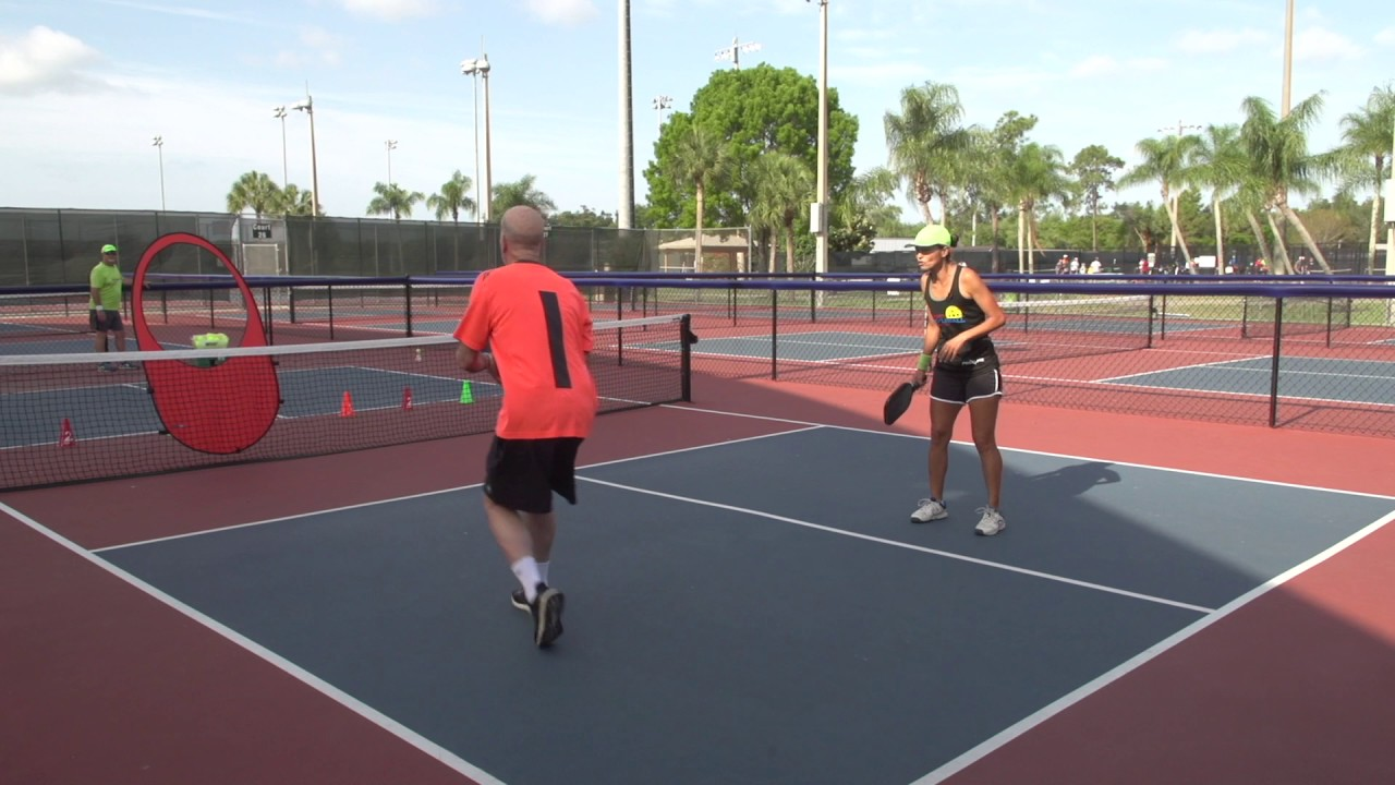 Pickleball Tutor Tips: Two Player 3-Shot Drill