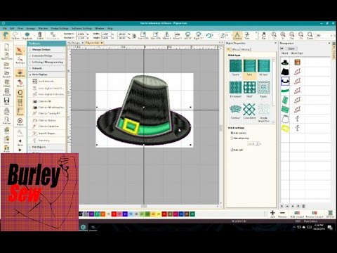 Hatch Embroidery Software Video 3 How To Easily Digitize Image To
