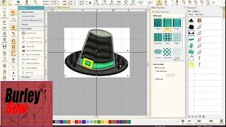 Hatch Embroidery Software Video 3- How To Easily Digitize Image to Embroidery Design