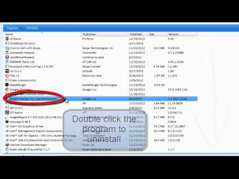 How do I remove Google toolbar from my computer: How to completely get rid of Google toolbar